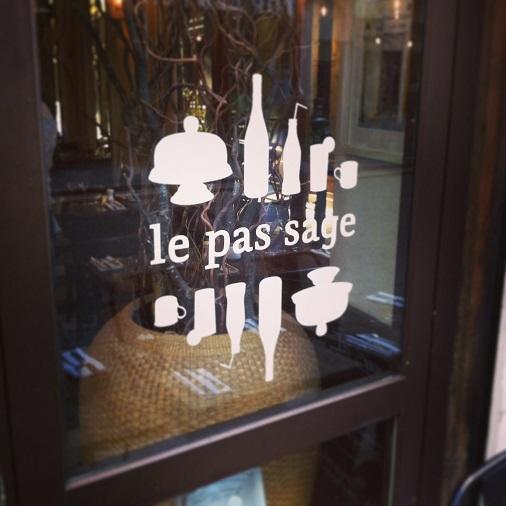 restaurant le pas sage paris bistrot rue saint denis passage grand cerf