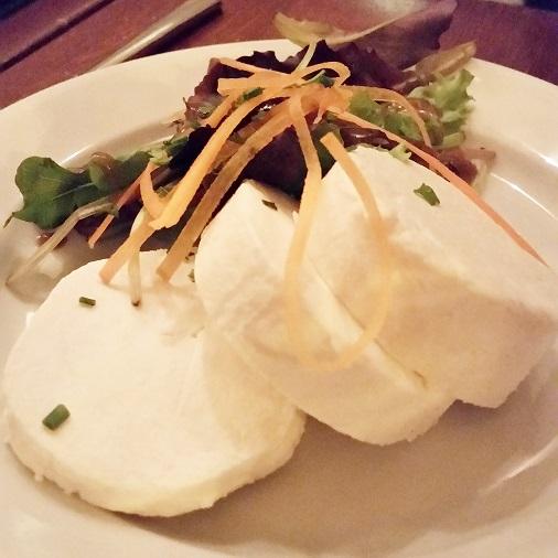 chèvre fromage frais restaurant bistrot valois paris test