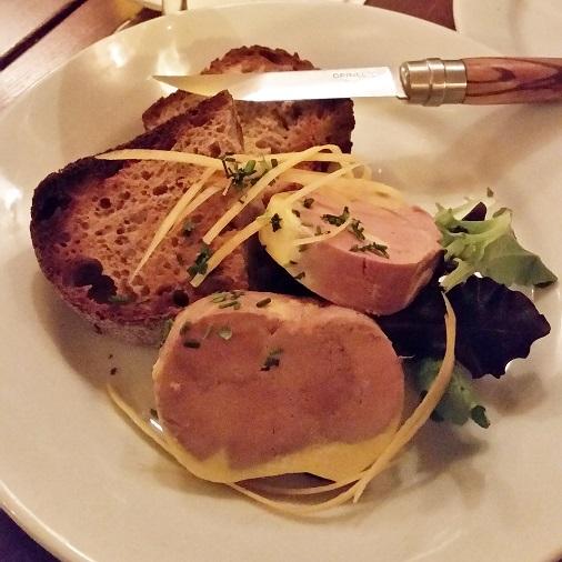 foie gras maison restaurant bistrot valois paris test
