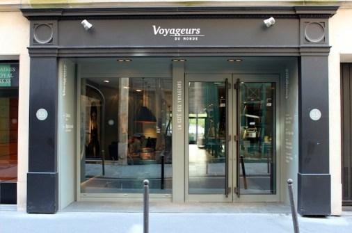 Librairie boutique Voyageurs du Monde paris rue saint anne