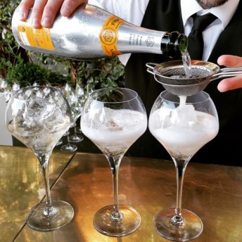 veuve clicquot rich cocktail thé