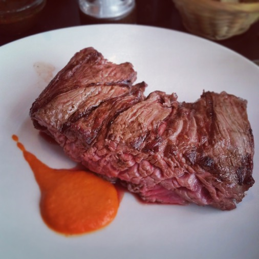 hampe viande restaurant unico argentin paris