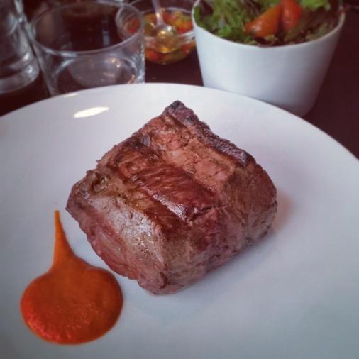 lomo morceau de viande restaurant unico argentin paris