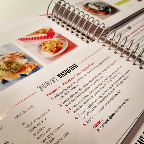 Test complet du cuisine companion moulinex edouard borie - Nouveau livre companion moulinex ...