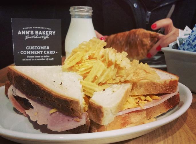 Ann's bakery dublin sandwich chips