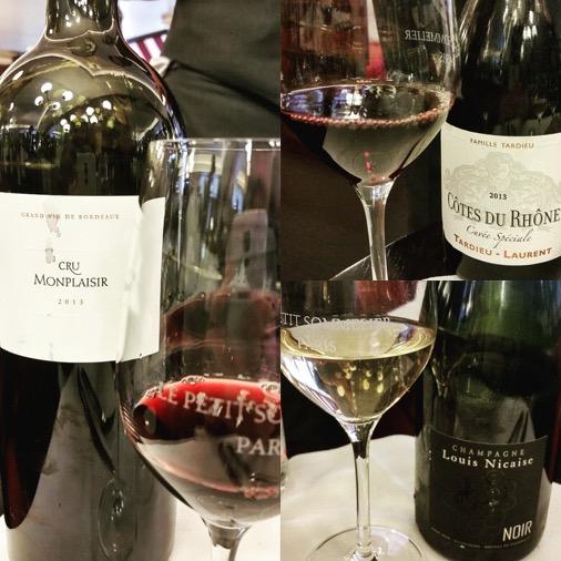 le petit sommelier restaurant paris sélection de vins