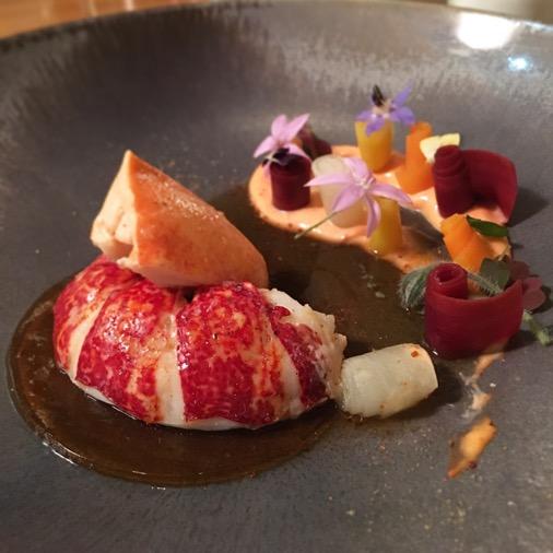 le homard camelia restaurant mandarin oriental