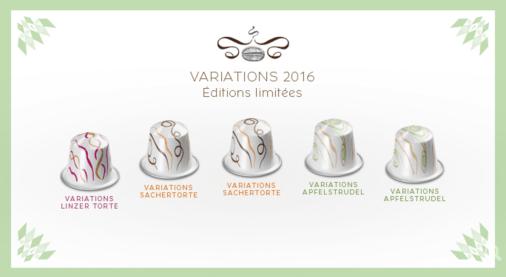 variations nespresso autriche