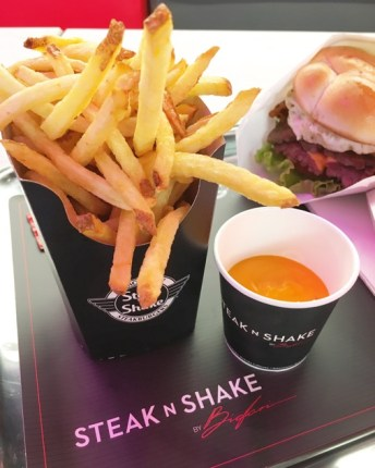 Steak n shake frites cheddar