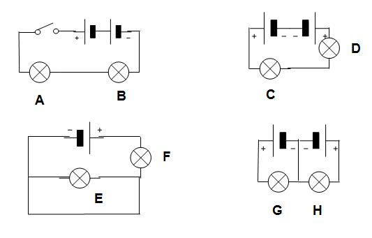 open circuit with switch simple circuit example