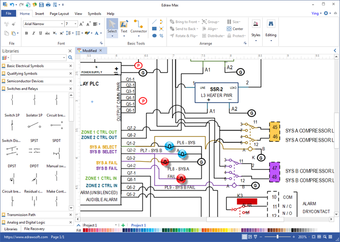 wiring diagram software