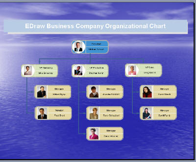 Create professional-looking organization charts for Microsoft