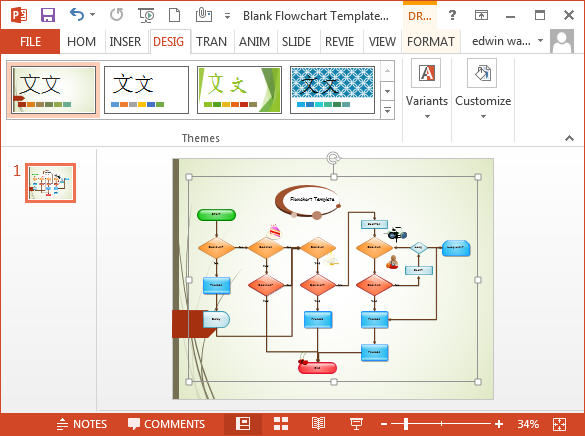 How to export the Edraw drawing to MS PowerPoint - Edraw Blog