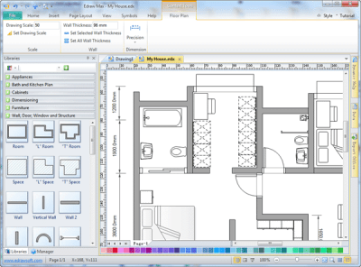 Easy Drafting Software - Edraw