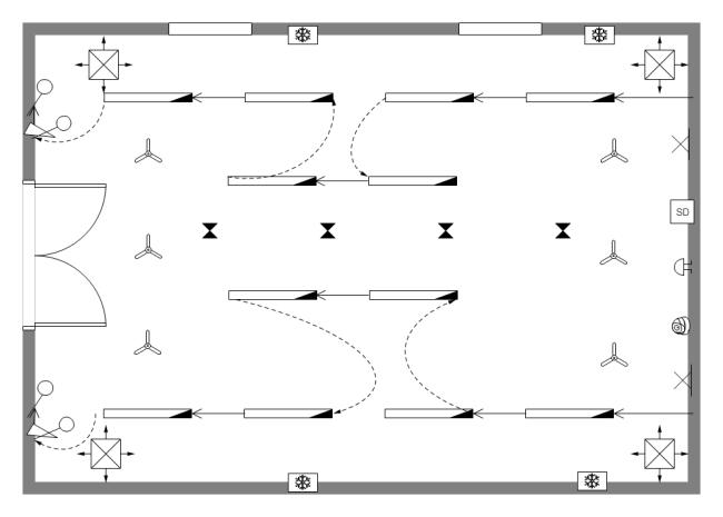 room diagram template