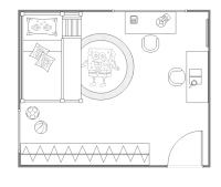 Kids Bedroom Layout | Free Kids Bedroom Layout Templates
