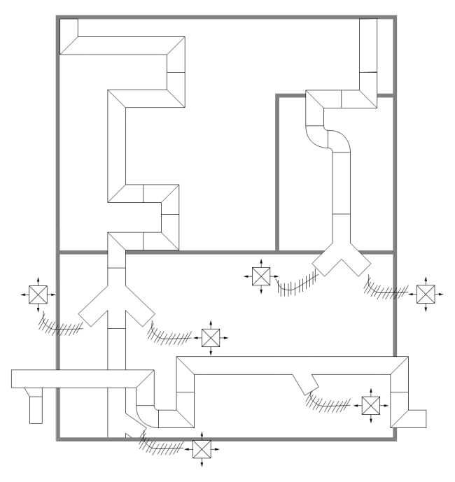 hvac duct drawing free images