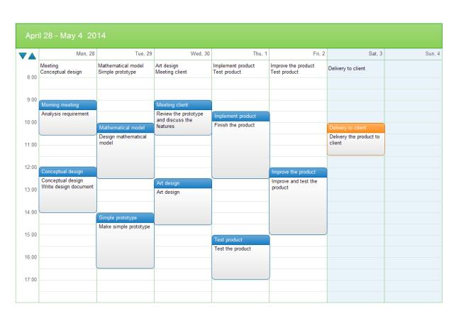 Make Online Calendar Scheduler Google Calendar Online Calendar Scheduling For Business Weekly Task Schedule Free Weekly Task Schedule Templates