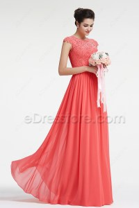 Bridesmaid Dresses With Sleeves Modest - Discount Wedding ...