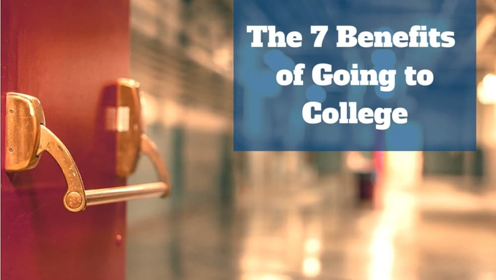 The 7 Benefits of Going to College  Earning a Degree