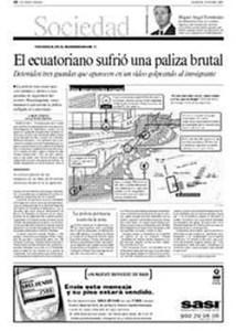 LA VANGUARDIA-LOS PEQUEÑITOS EMIGRAN--