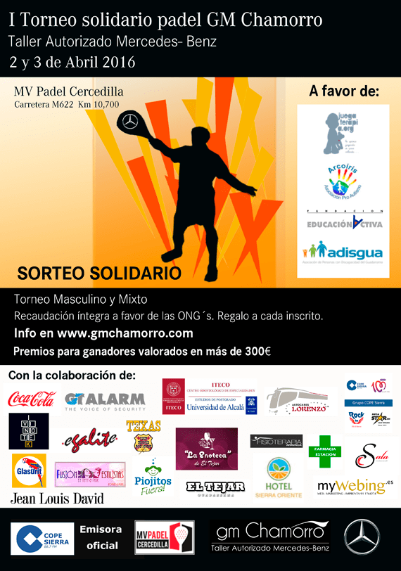 ITorneo Solidario GM Chamorro