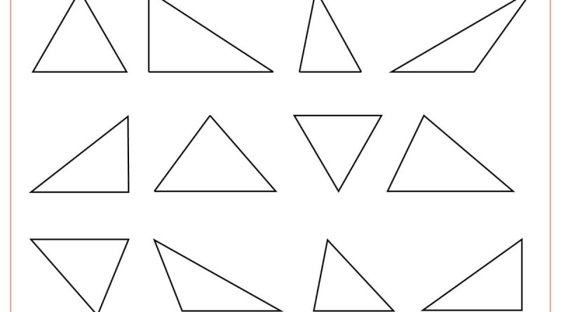 Triangle ABC coloring page  Free Printable Coloring Pages