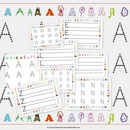 Picasa6 1024x1024 Grafomotricidad. Fichas del Abecedario