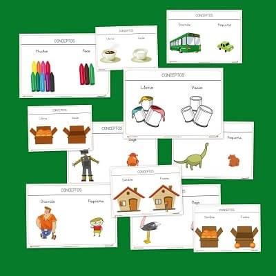 Aprender conceptos básicos en educación infantil