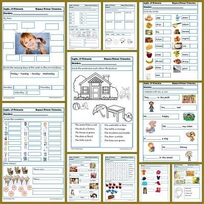 Ejercicios de ingl s para segundo de primaria - Aprender ingles en un mes ...