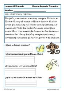 ejercicios lengua primero primaria 05
