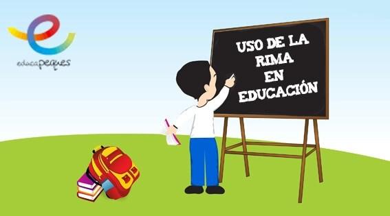 Usos de la rima en la educación