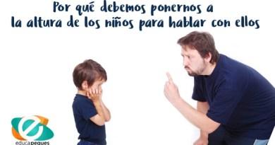 Por qué debemos ponernos a la altura de los niños para hablar con ellos