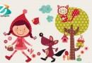 Poesías para niños: Caperucita, el lobo amistoso y el gato maramamiau
