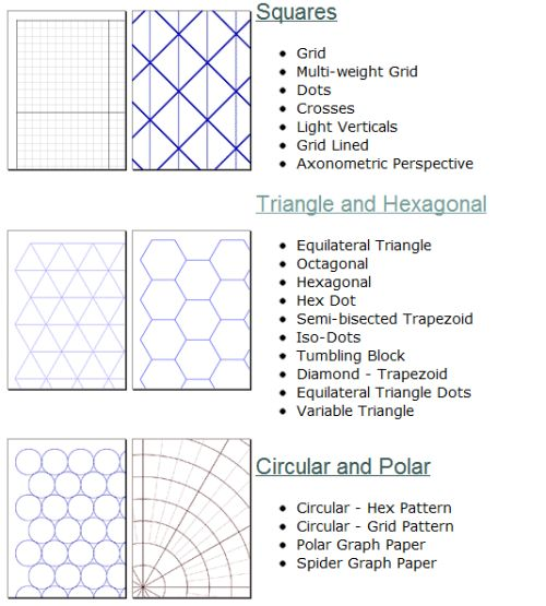 10 Sites to Print Different Graph Paper for Your Projects - microsoft office graph paper