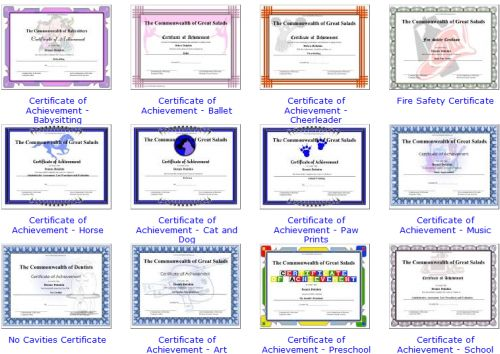 Free Online Educational Elementary Tools for Teachers - free online printable certificates