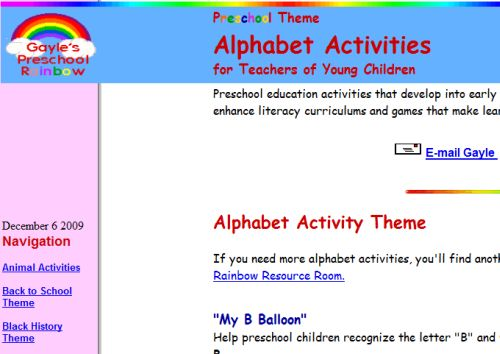 The Top Ten Online Lesson Plans for Learning ABC\u0027s