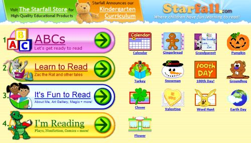 The Starfall Store Educational Products For A Classroom