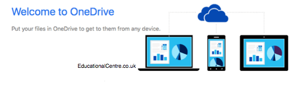 OneDrive logo header modified