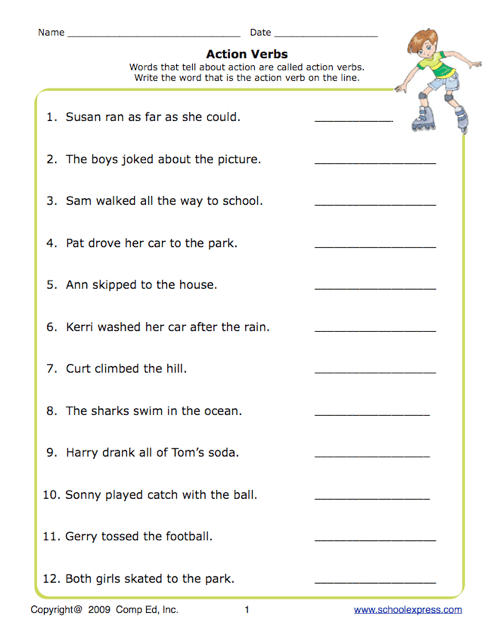 All Worksheets Subject Verb Agreement Worksheets For Grade 7 – Verb Tense Agreement Worksheets