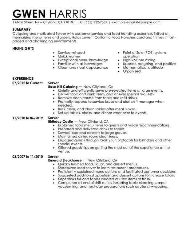 Different  Best Resume Types for An Attractive Impression eduCBA