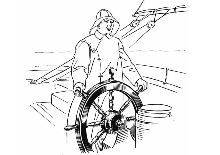 imagenes para colorear de marineros