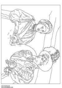 Disegno da colorare Caravaggio - Cat. 3180.