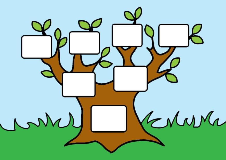 Image empty family tree - Img 26874