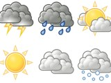 Weather Symbols from edupics
