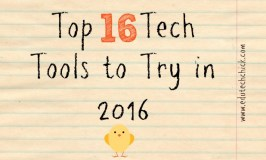 Top 16 Tech Tools to Try in 2016