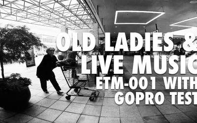 Edutige ETM-001 with GoPro Hero4 Black for Live Music [VIDEO]