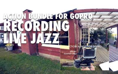Using a GoPro to Record Live Jazz