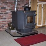 English: Wood pellet stove