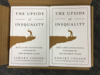 two_Conard_Upside books have arrived 8.11